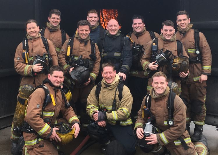 new recruit firefighters