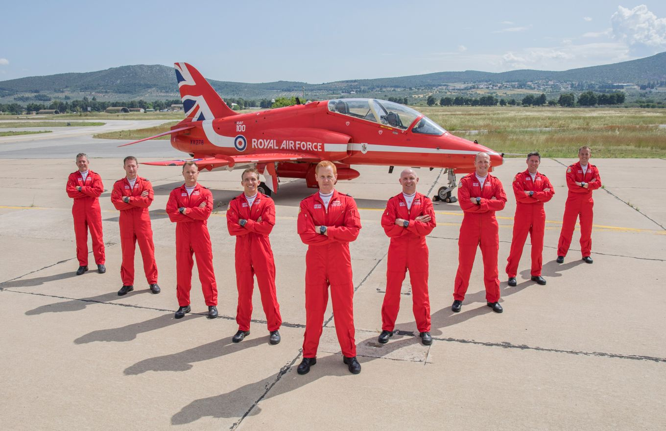 Red Arrows 2018